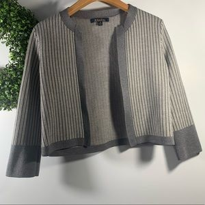 BROOKS BROTHERS . Merino Wool Open Front Cardigan